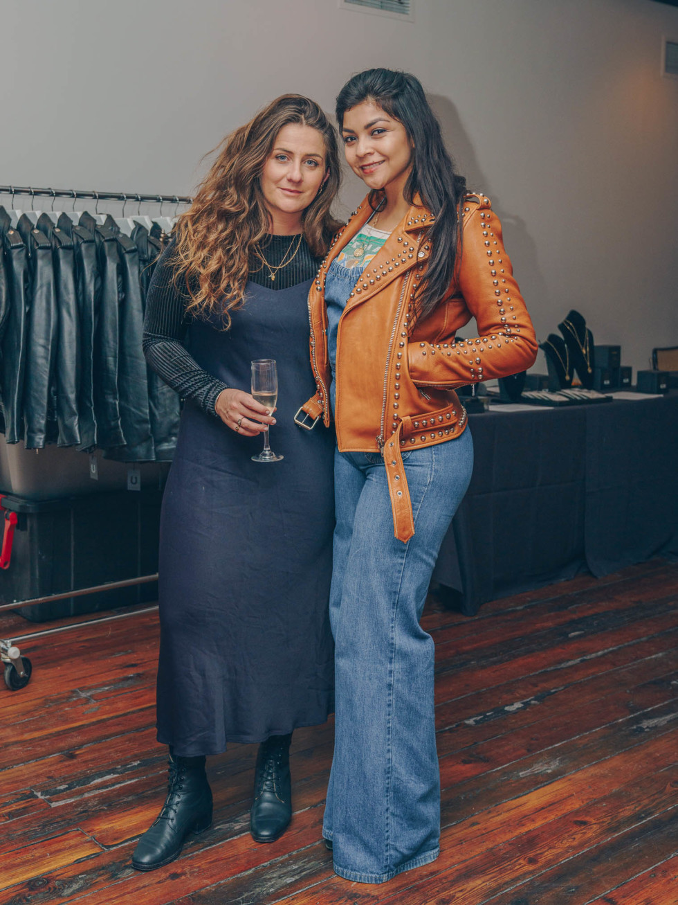 Bumble Understated Leather The Kindness Campaign VIP Event at Antone's Upstairs Pamela Edmonds Roslynn Castillo