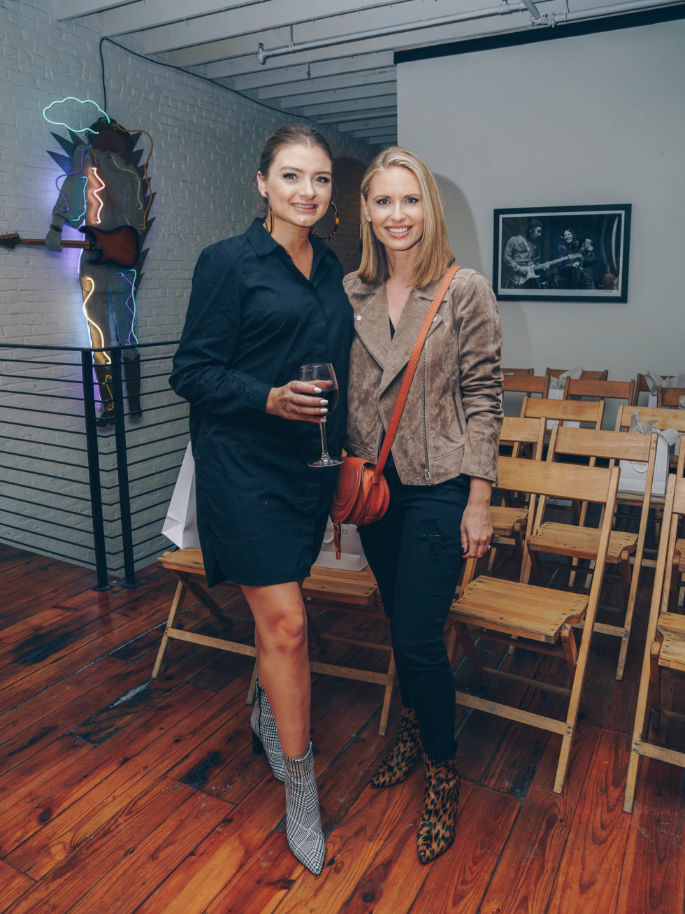 Bumble Understated Leather The Kindness Campaign VIP Event at Antone's Upstairs Paige Casey Lauren Petrowski