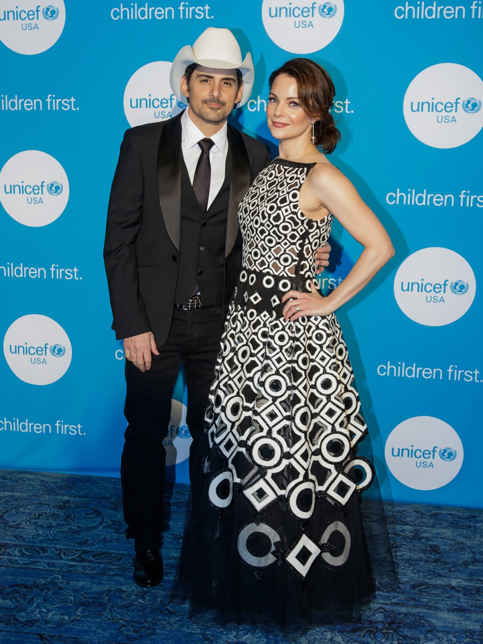 Brad Paisley, Kimberly Williams-Paisley, UNICEF gala