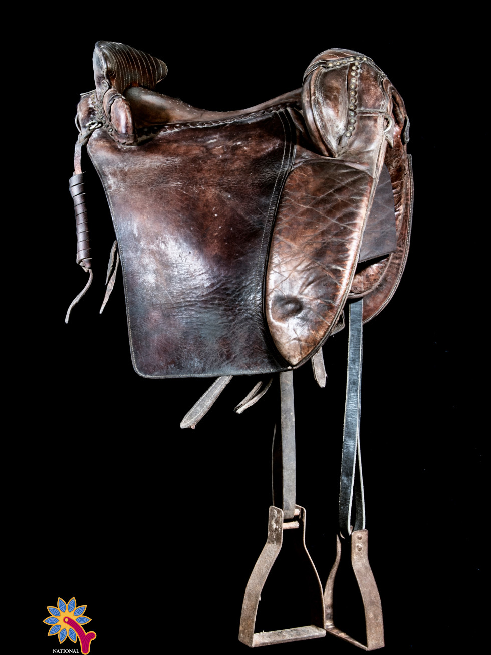 Jon Snow Game of Thrones saddle, Cowgirl Museum