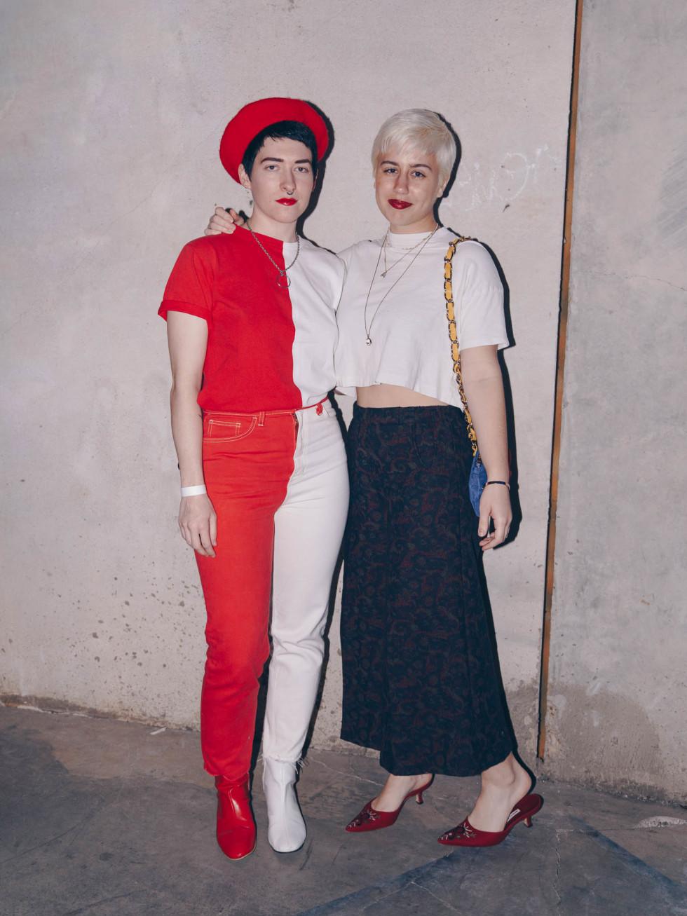 Diptych III Fashion Show at Austin School of Film Sarah McCaskill Hannah Dubbe