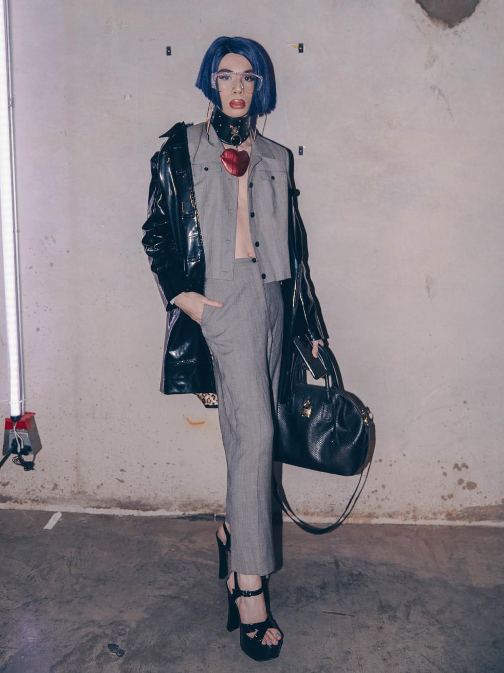Diptych III Fashion Show at Austin School of Film Troy Gomez