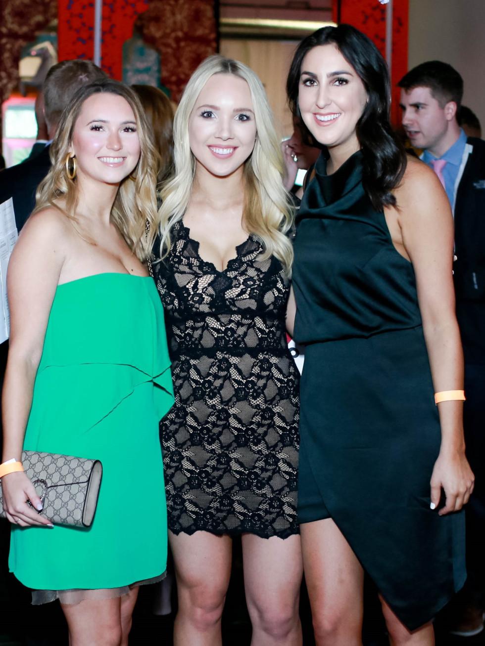 Mallory Plummer, Kimberly Cadarette and Taylor Wolf