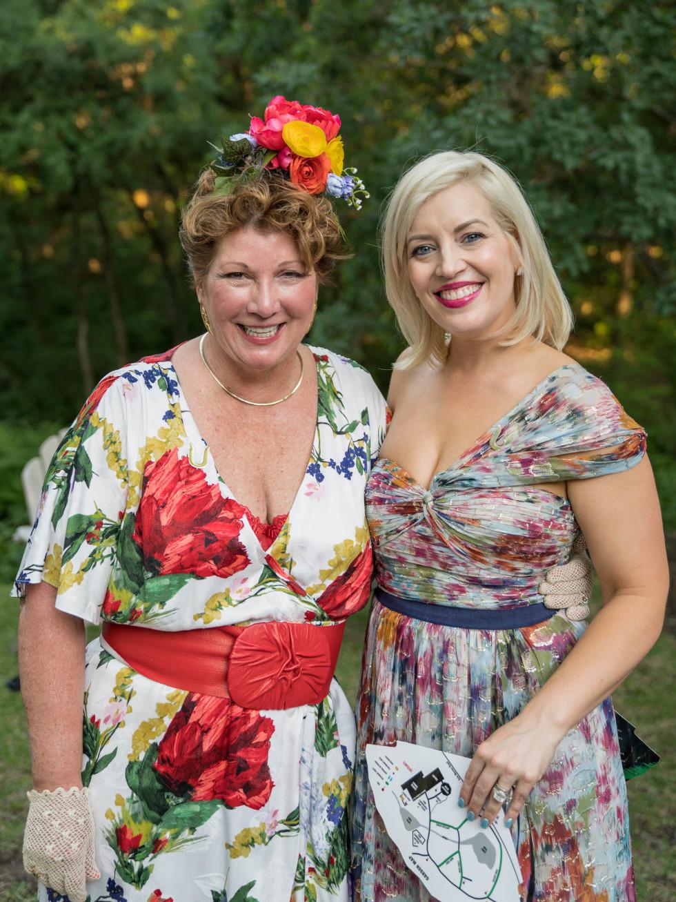 Umlauf Garden Party 2019 Karin Richmond Mila Sarahjane Dailey