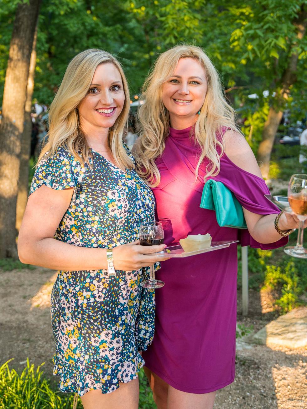 Umlauf Garden Party 2019 Elicia Michaud Courtney Bishop