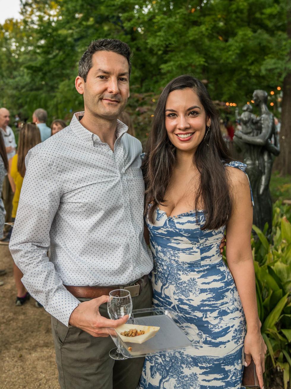 Umlauf Garden Party 2019 Joel Nolan Martha Gonzalez