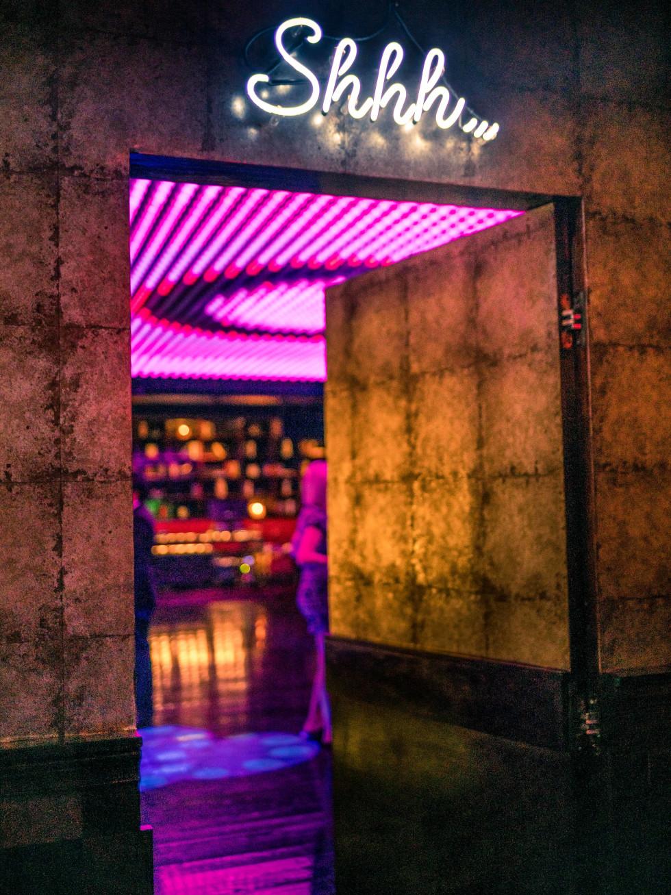 Base nightclub entrance