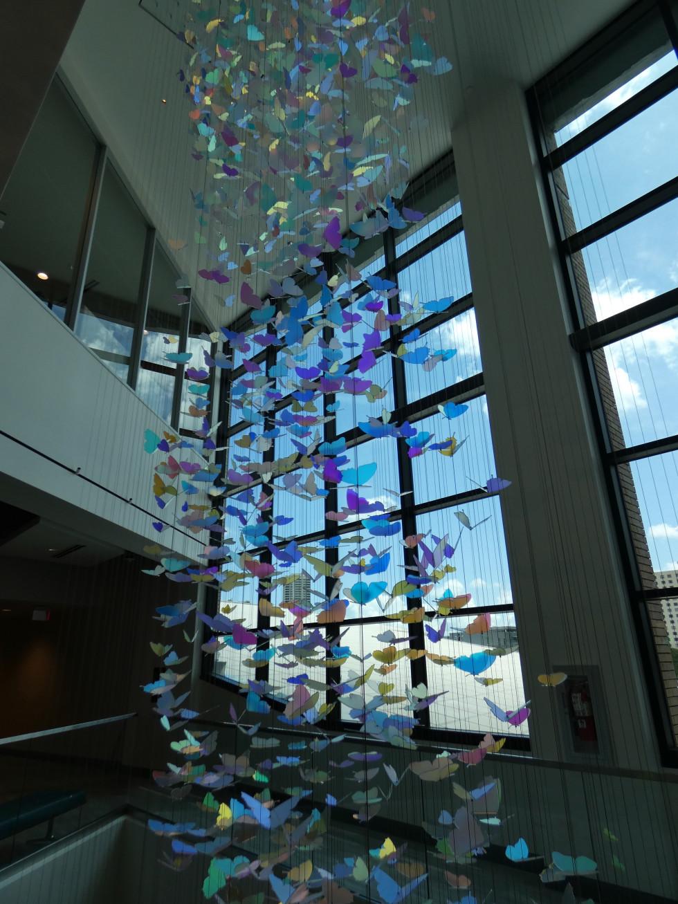 Holocaust Museum Houston Butterfly Loft