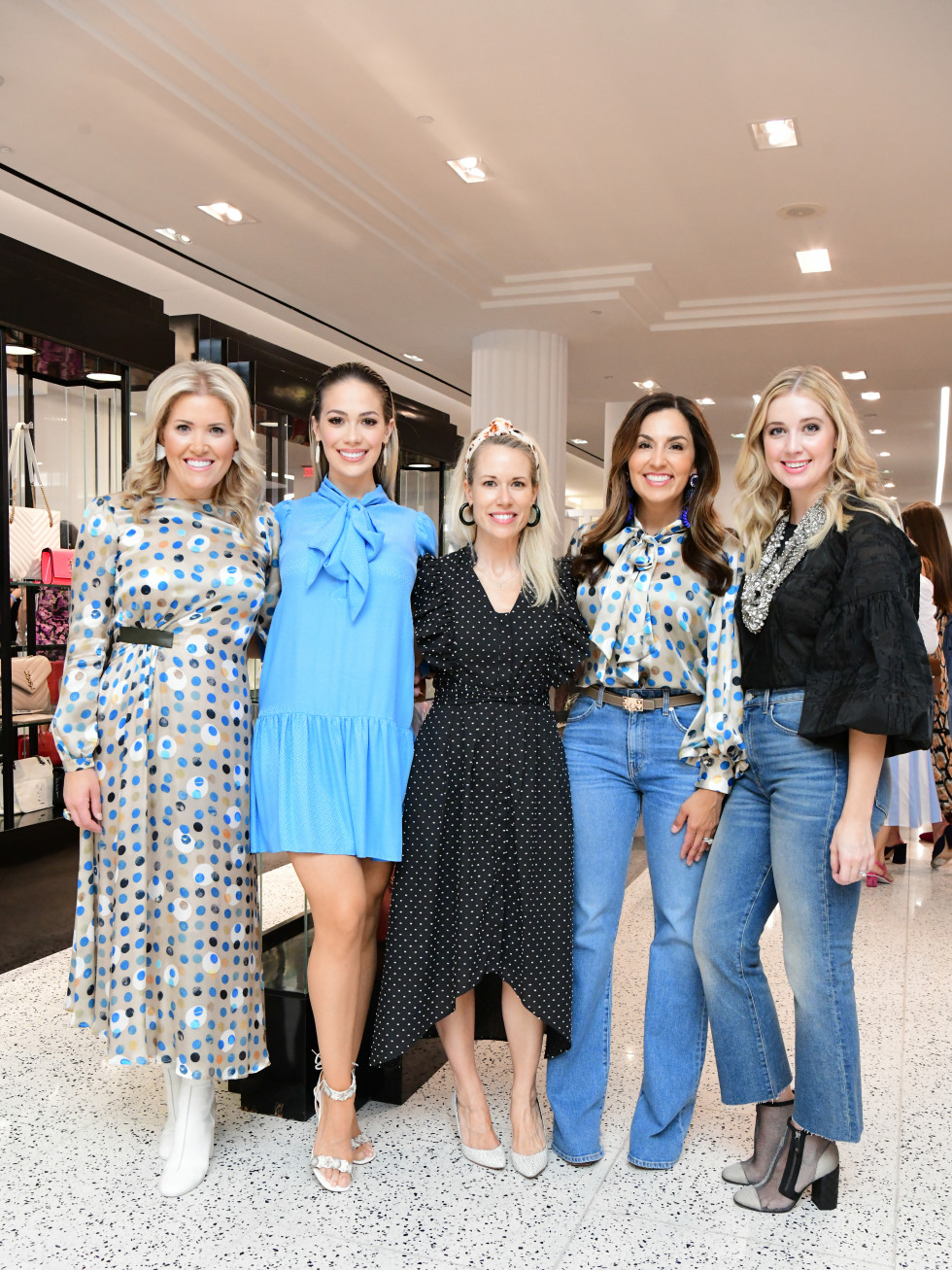 Summer Soiree Dress for Success WOW Tootsies Amanda Boffone, Daniella Rodriguez, Hunter Bell, Julie Longoria Chen, Courtney Campo