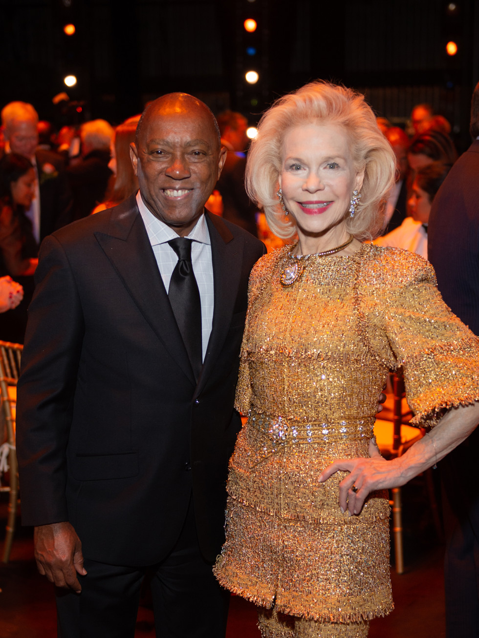 Houston Ballet Onstage Dinner Mayor Sylvester Turner Lynn Wyatt