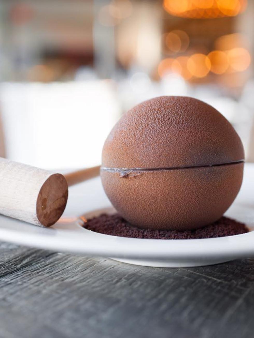 Caracol el coco dessert