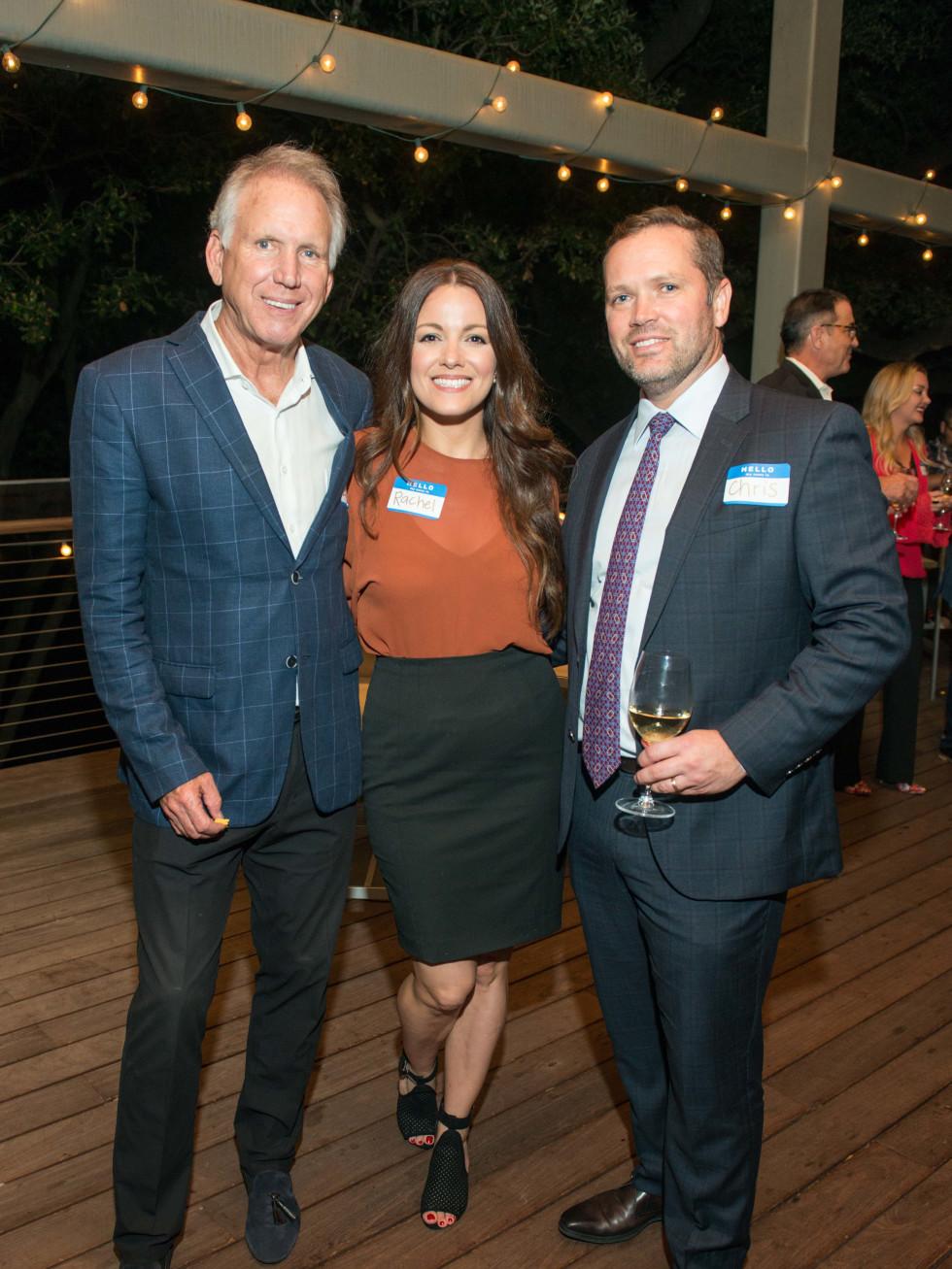 Automotive Map launch party 2019 Lonnie Schiller, Rachel Conrad, and Chris Dvorachek