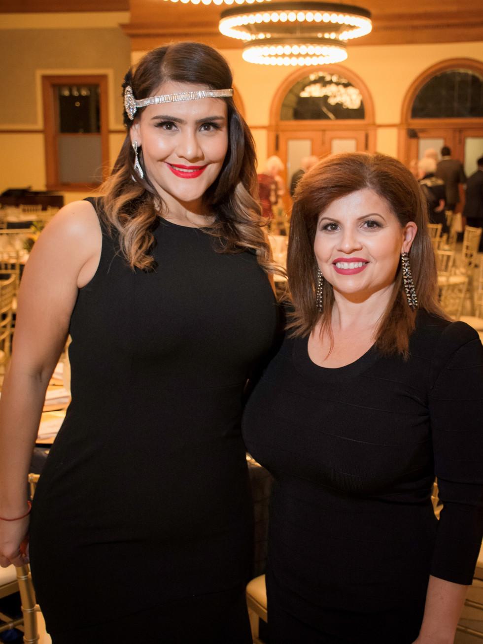 Pilar Candia and Diana Acosta