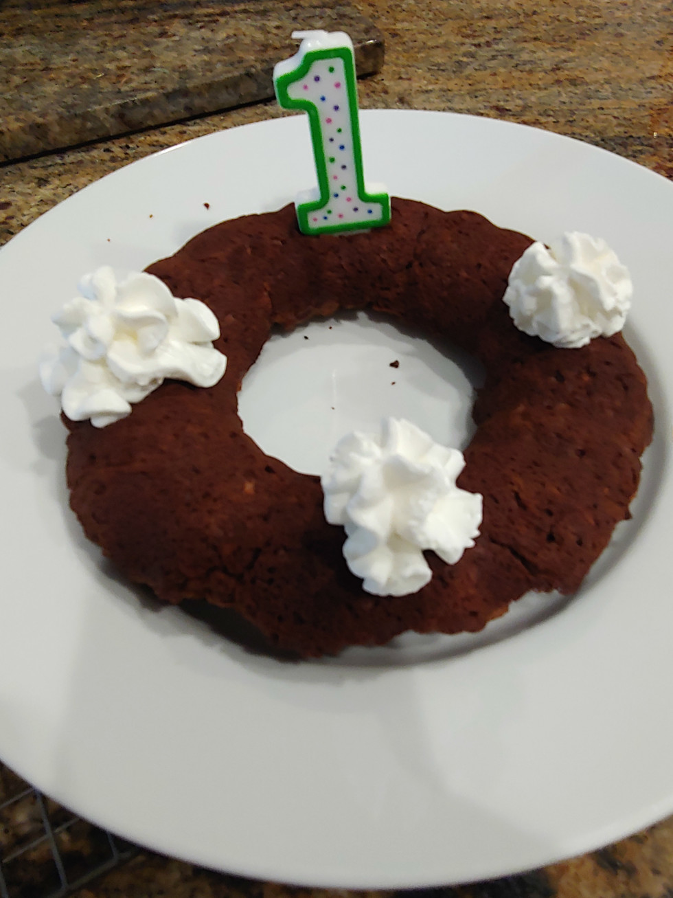 Ken Hoffman anniversary cake
