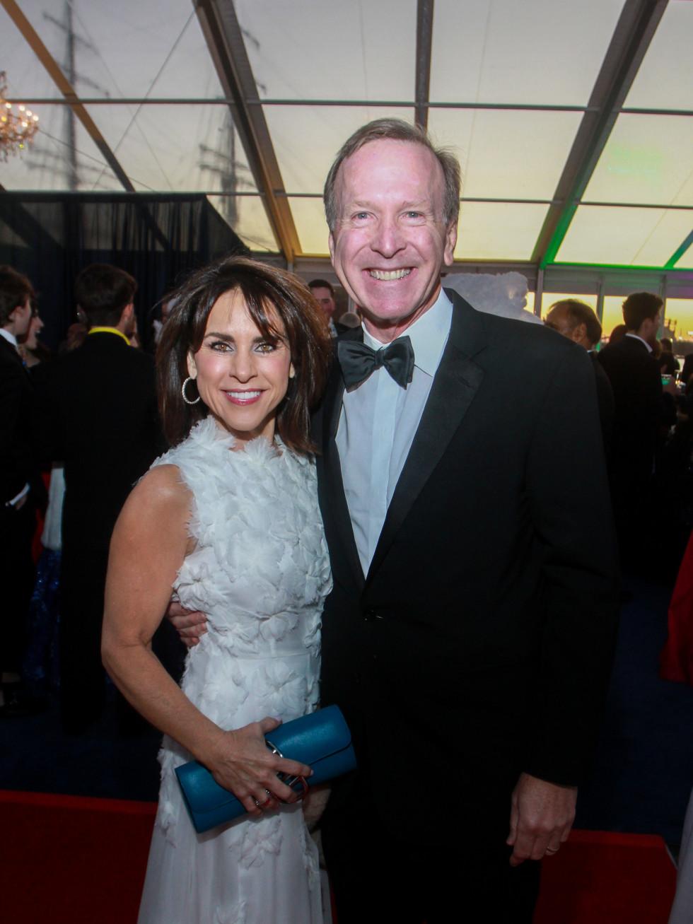 San Luis Salute 2020 Maria and Neil Bush
