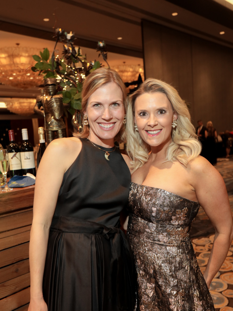 West U Park Lover's Ball 2020 Nancy Kate Prescott and Peyton Popp