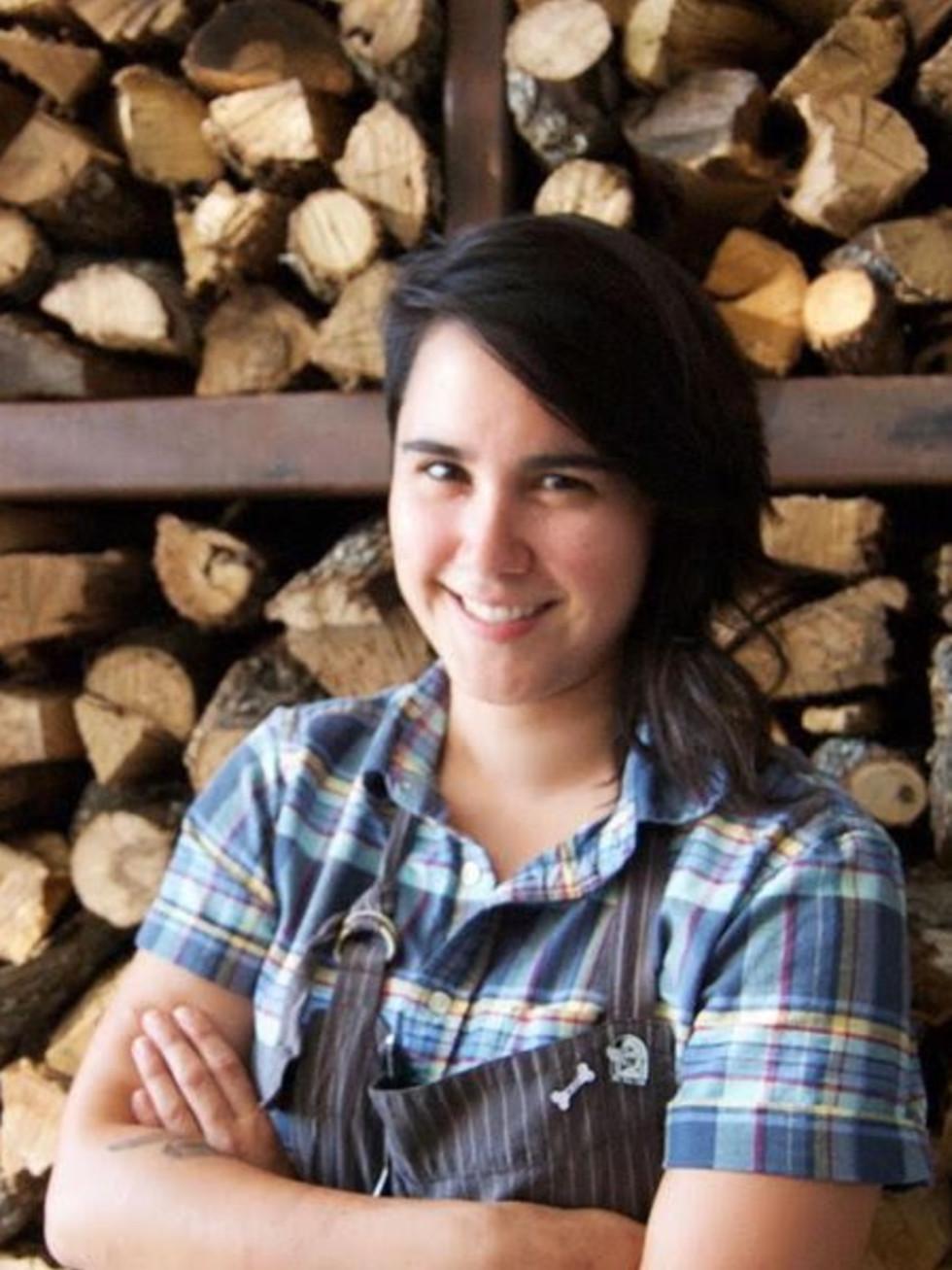 Executive Sous Chef Alexa Mejia of Barley Swine in Austin