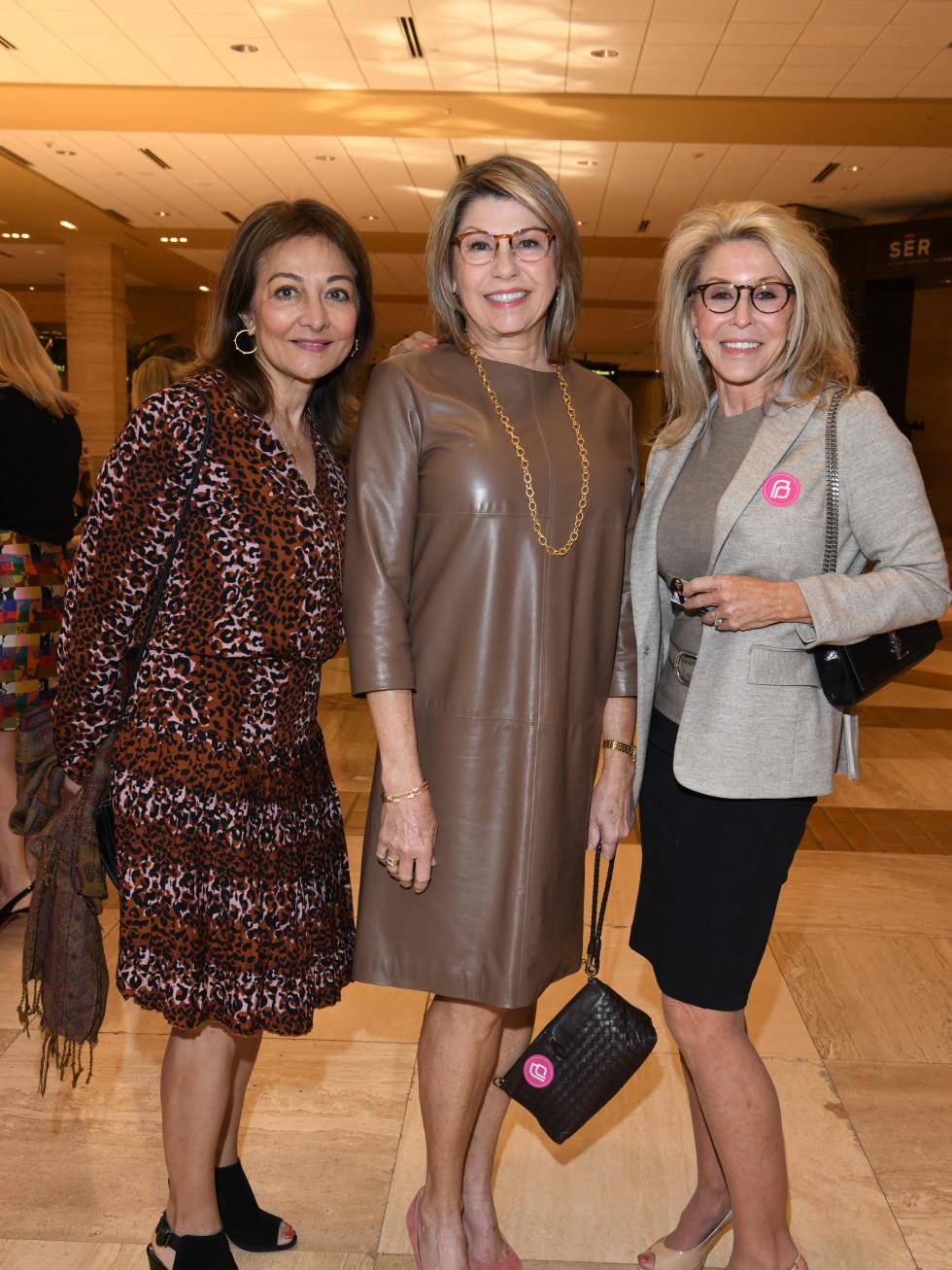 Jabeen Zaidi, Kathy Clark, Sharon Devereux