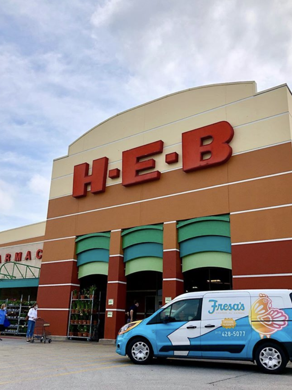 HEB fresa's delivery
