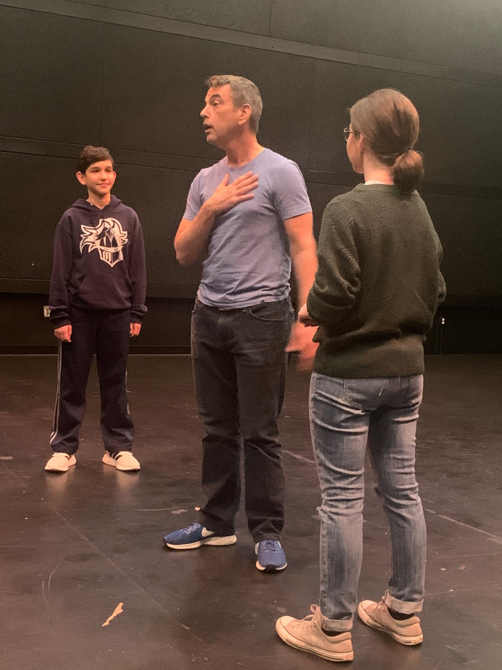 Donald Fowler teaching at Our Productions