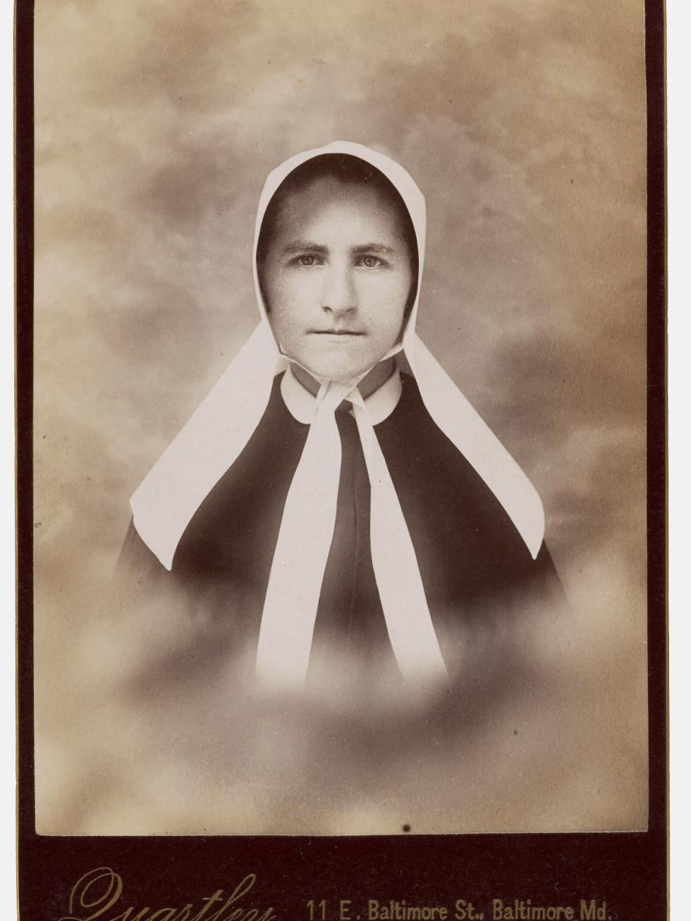 Charles Quartley, Baltimore, MD, [Church woman], 1880s