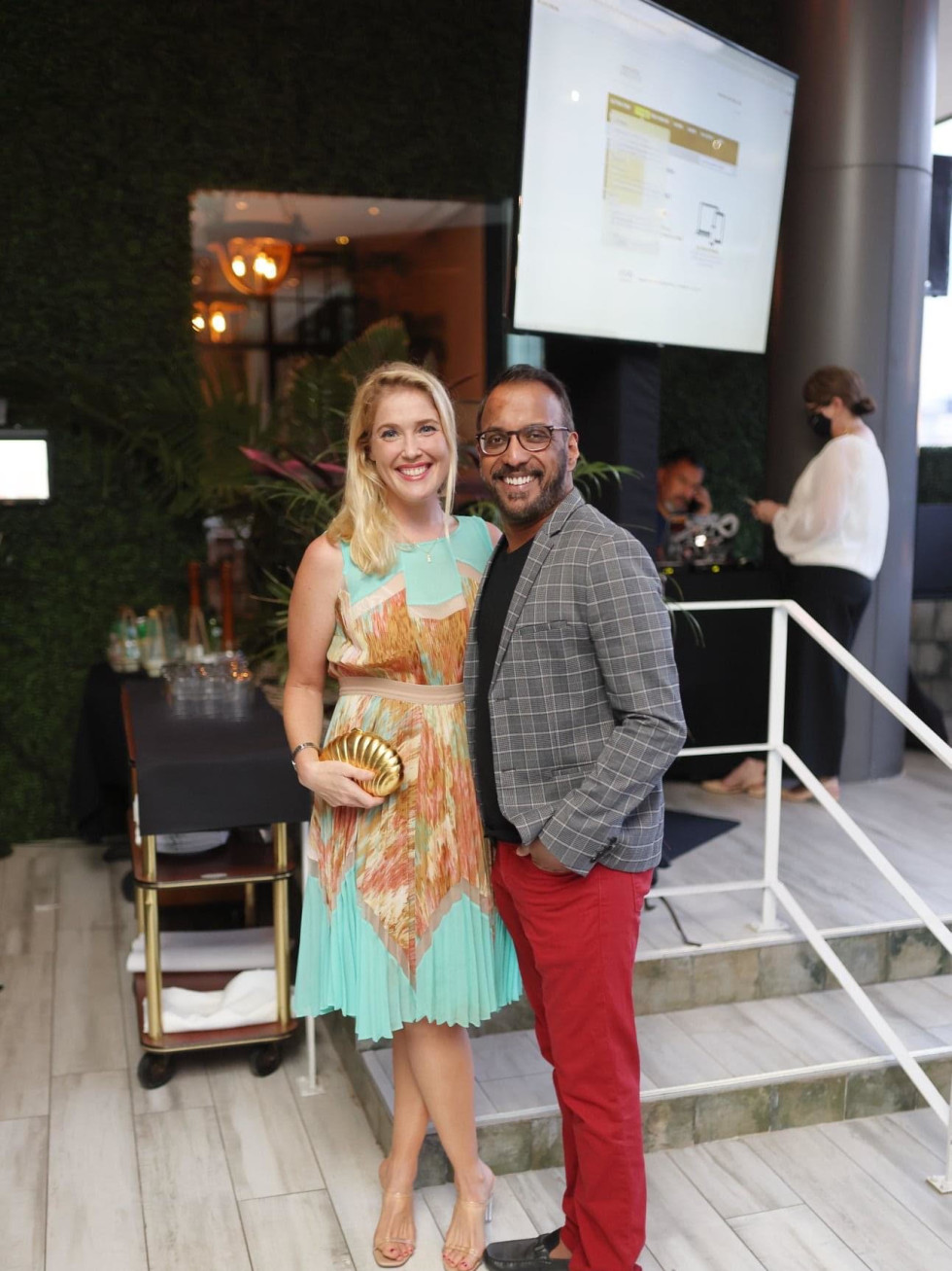 Houston PetSet Fierce Fabulous Soiree 2020 Jennifer Roosth Steven Devadanam