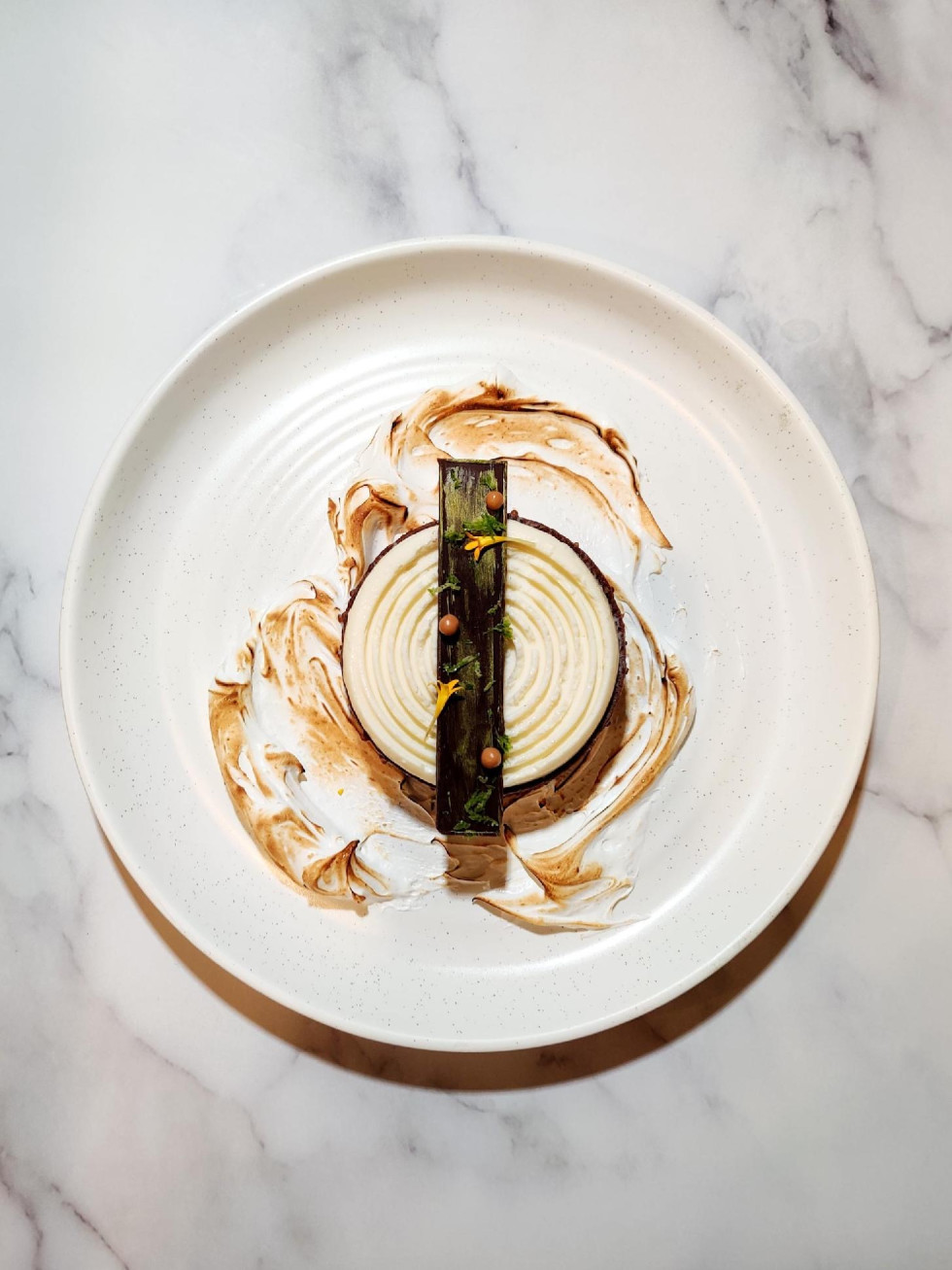 Permission Whiskey chartreuse tart