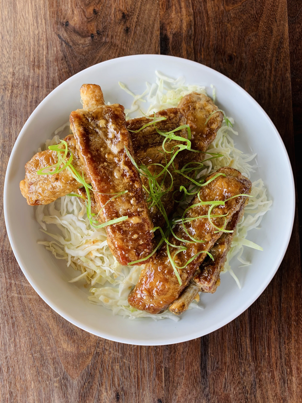 UB Preserv Korean fried ribs