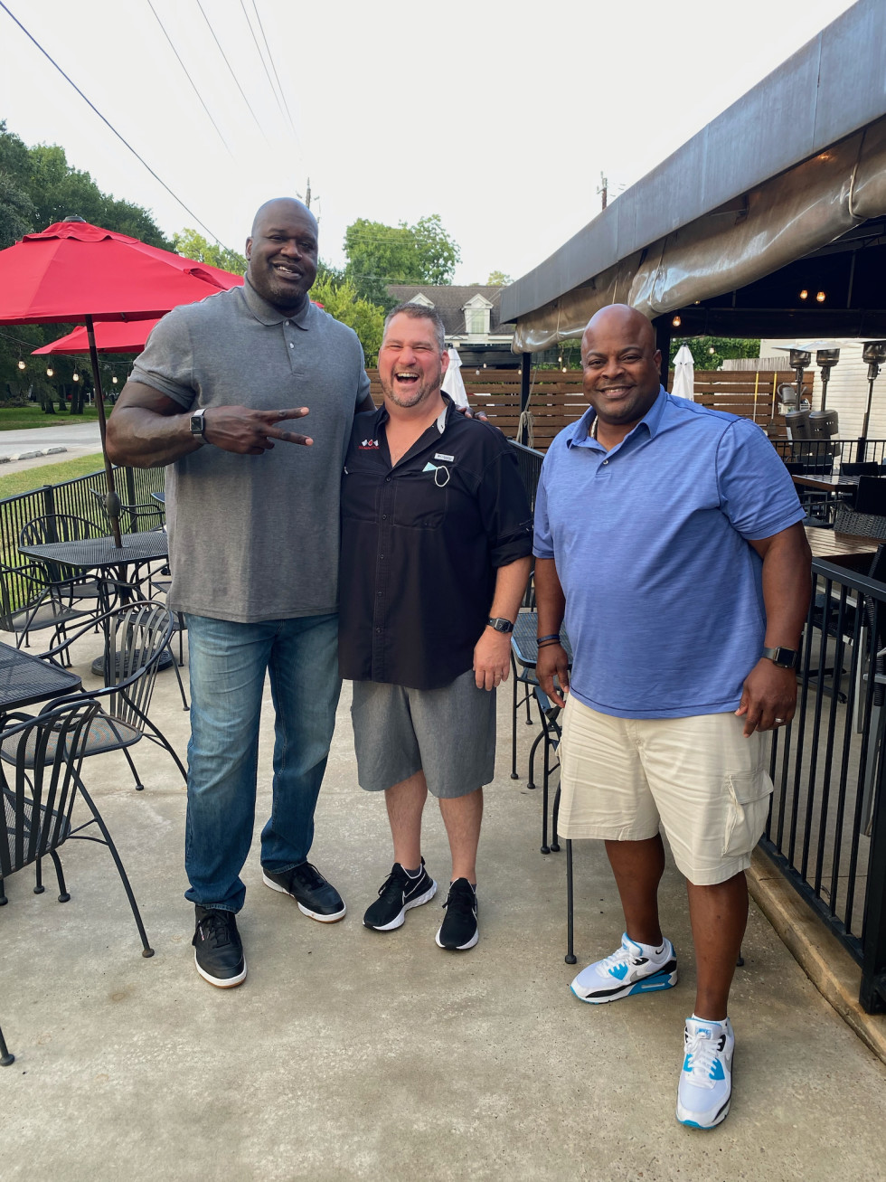 Shaquille O'Neal Paul Miller Kenneth Miles