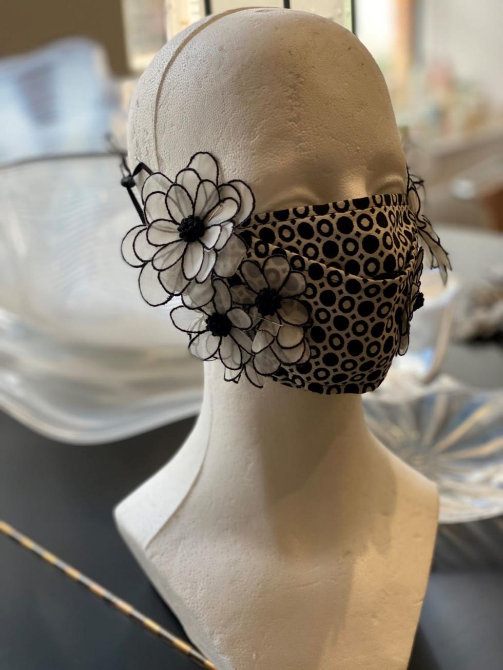 Kay Unger mask, Fashion Meets Mask