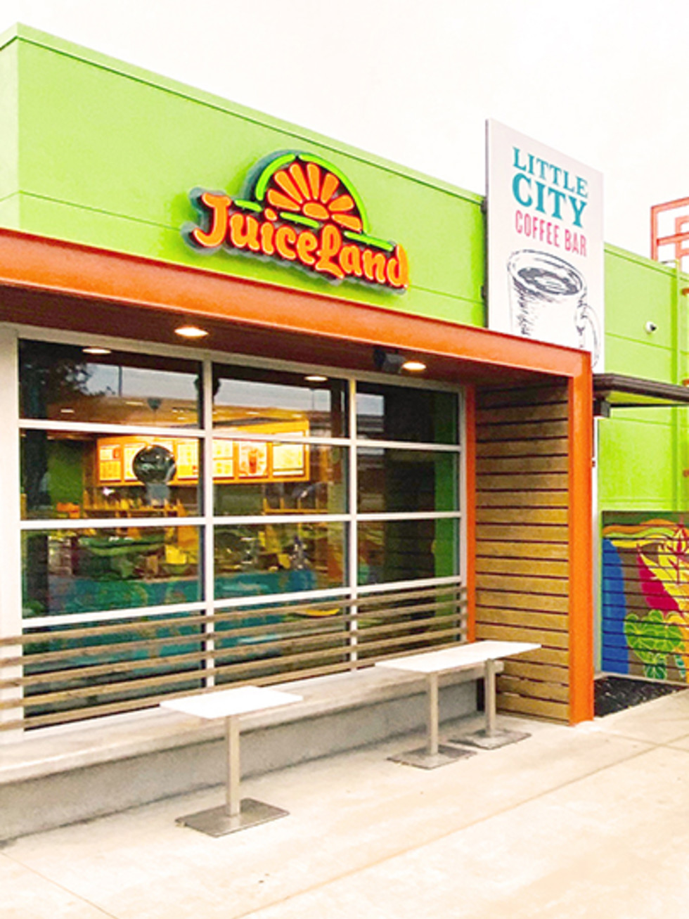 JuiceLand Little City drive-thru sunset valley