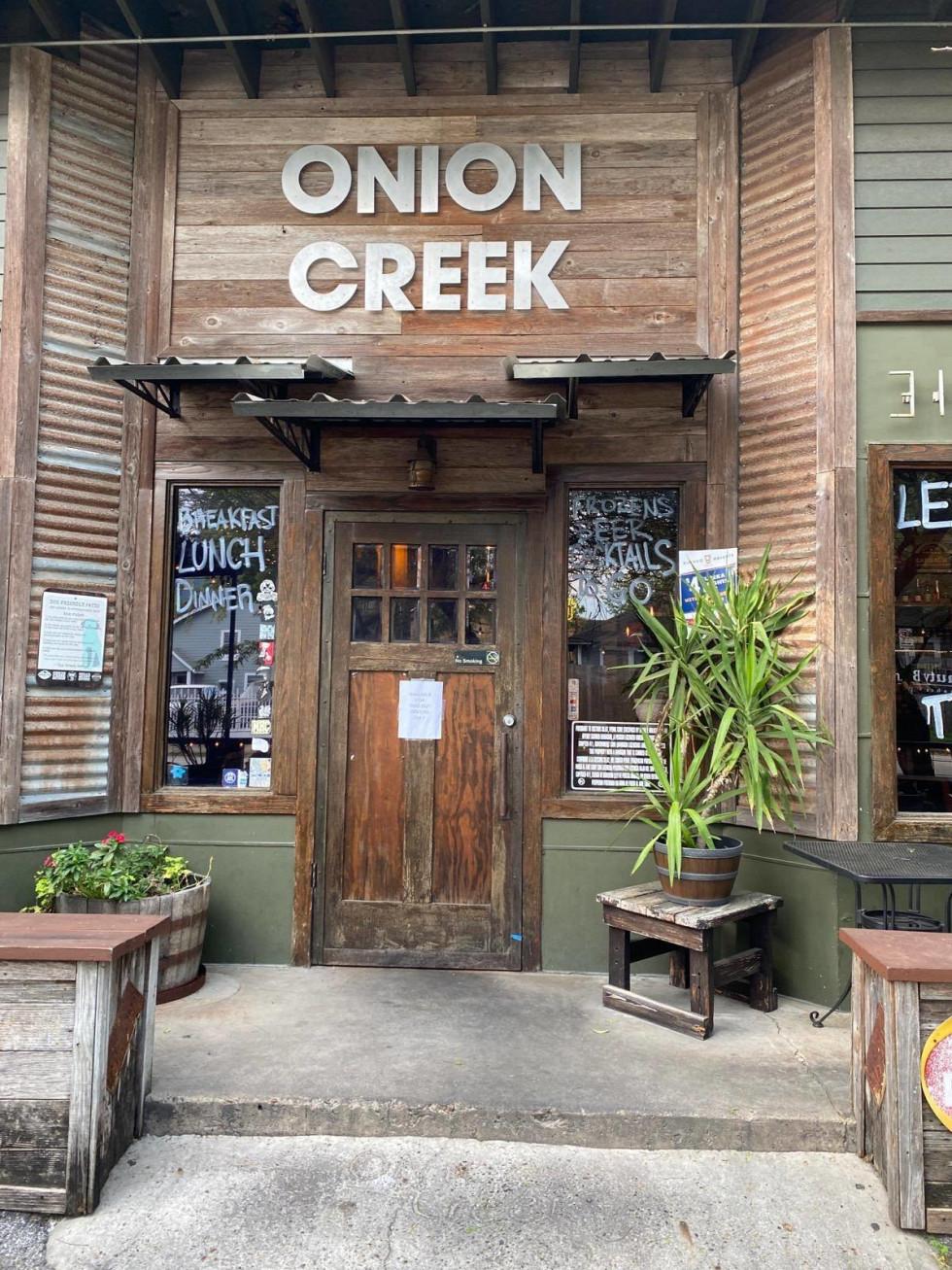 Onion Creek exterior