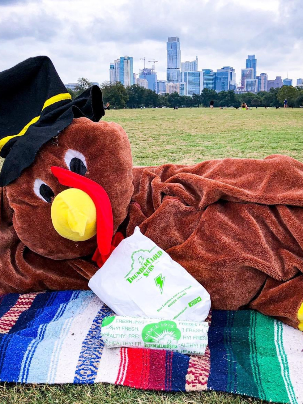Turkey Trot 2020 socially distance picnic thanksgiving austin