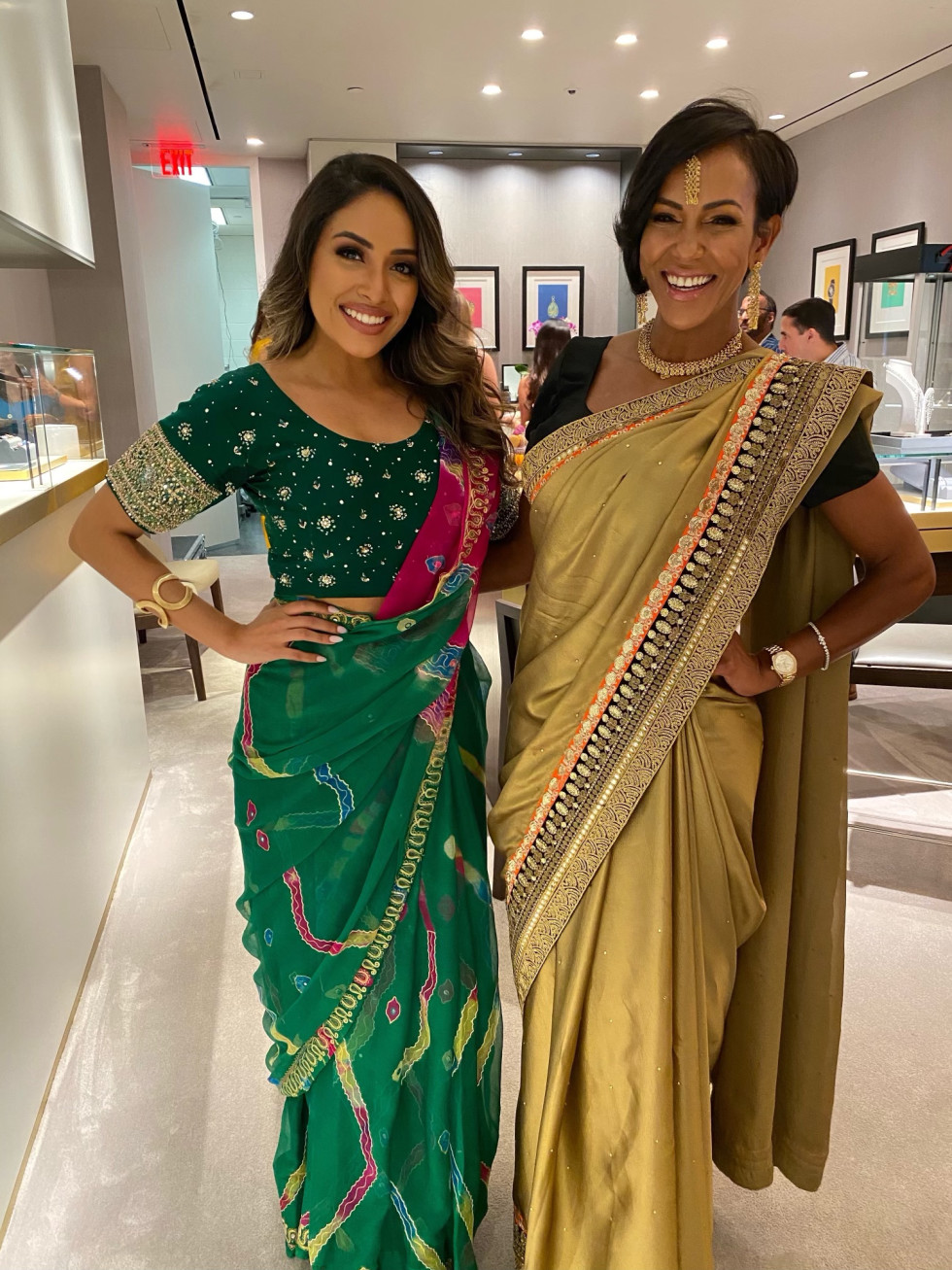 LCA Houston Faberge Diwali 2020  Brisehyda Cheung and Milka Waterland