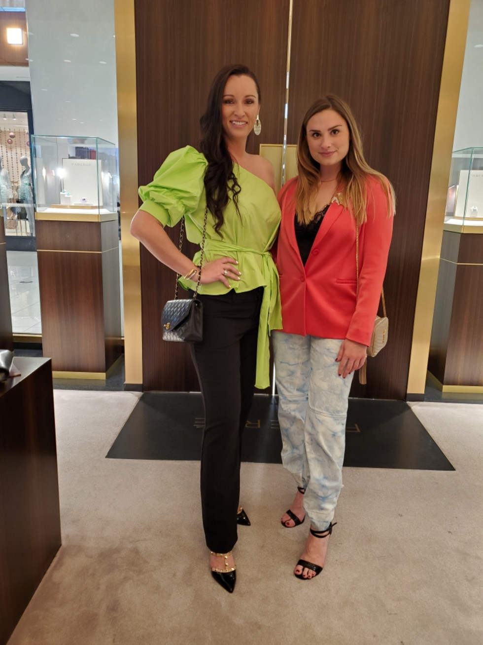 LCA Houston Faberge Diwali 2020 Samantha Holsomback and Natallie Galerne