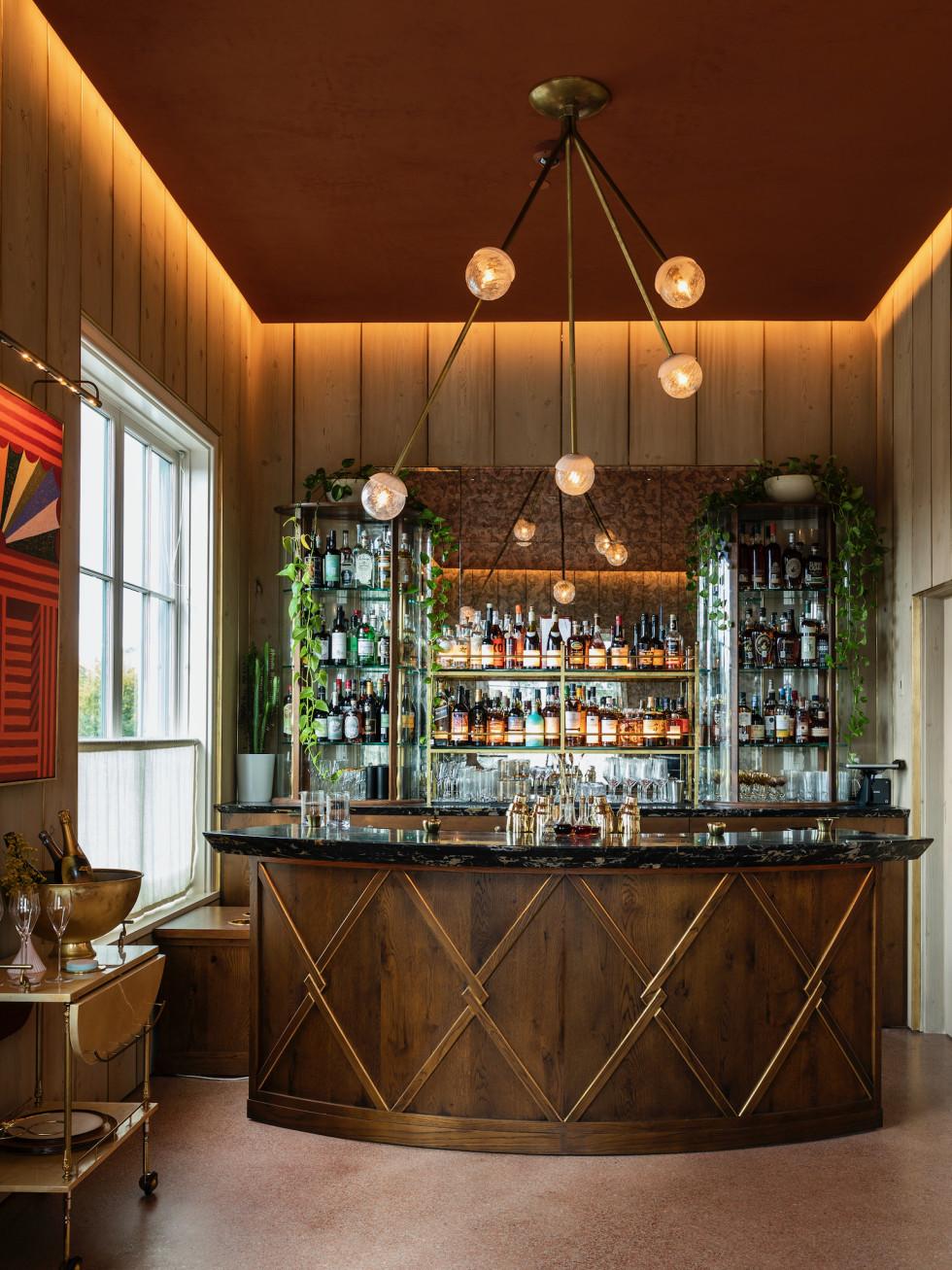 March restaurant bar interior