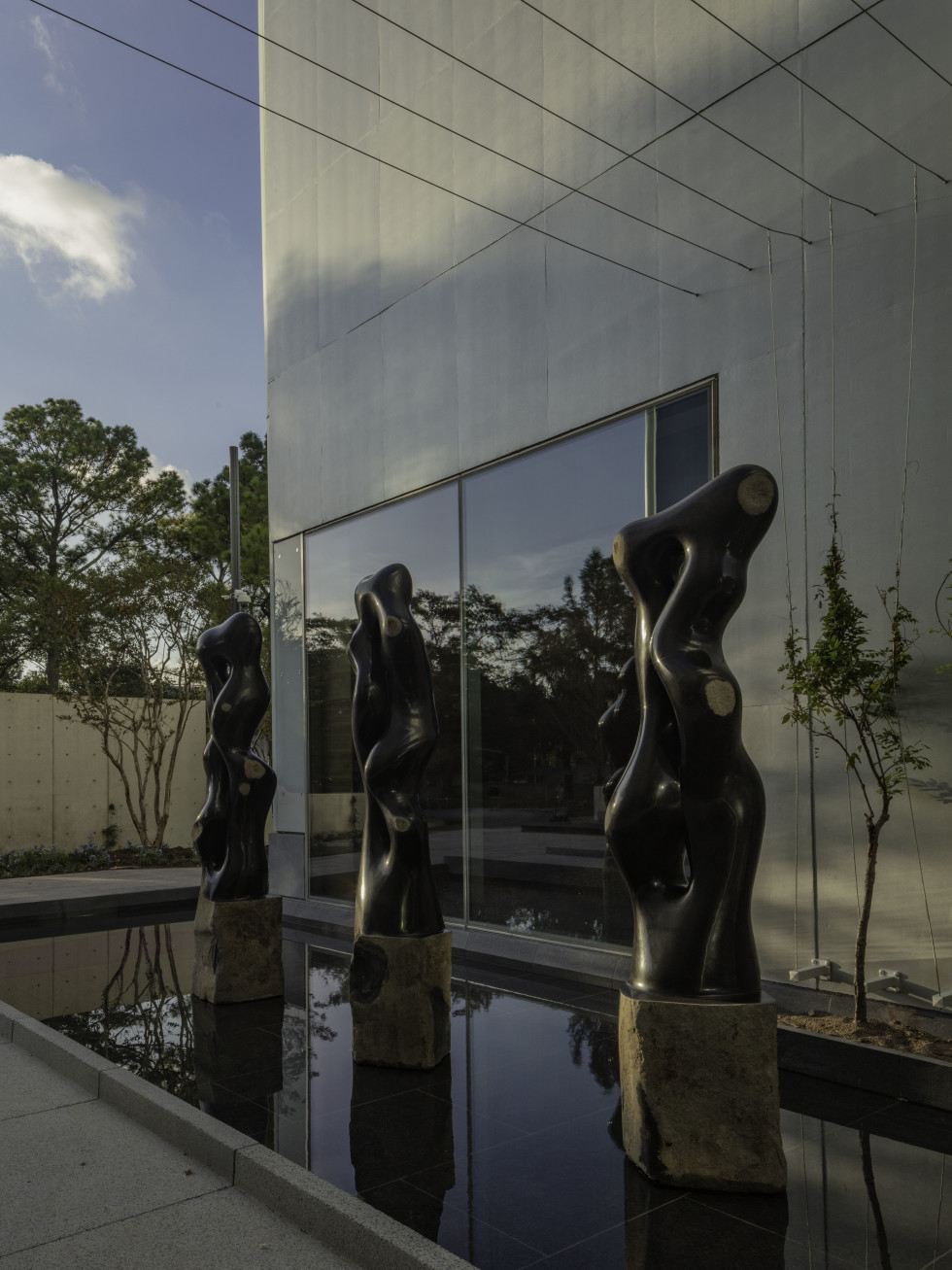 MFAH Nancy and Rich Kinder Building Byung Hoon Choi's Scholar's Way