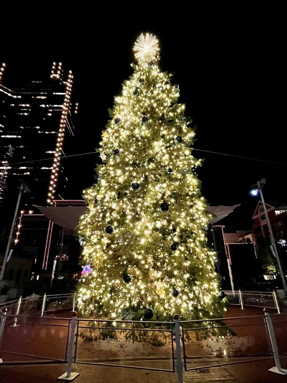 Sundance Square Christmas tree 2020