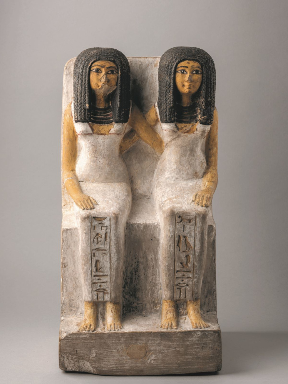 Statue of Idet and Ruiu, Nefertari