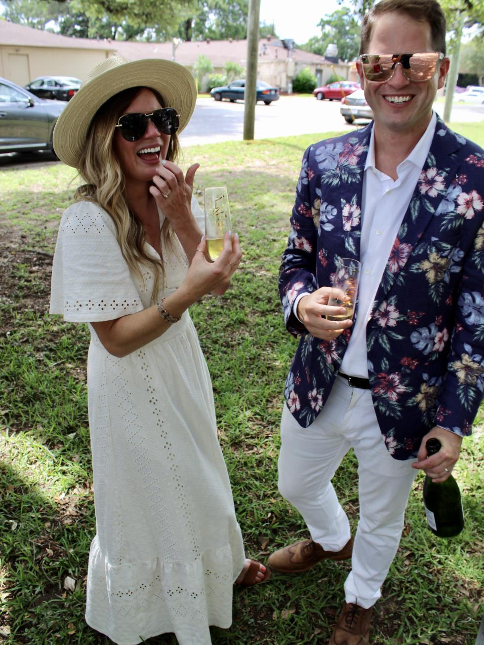 Nick Scurfield Grace Gibson wedding Houston