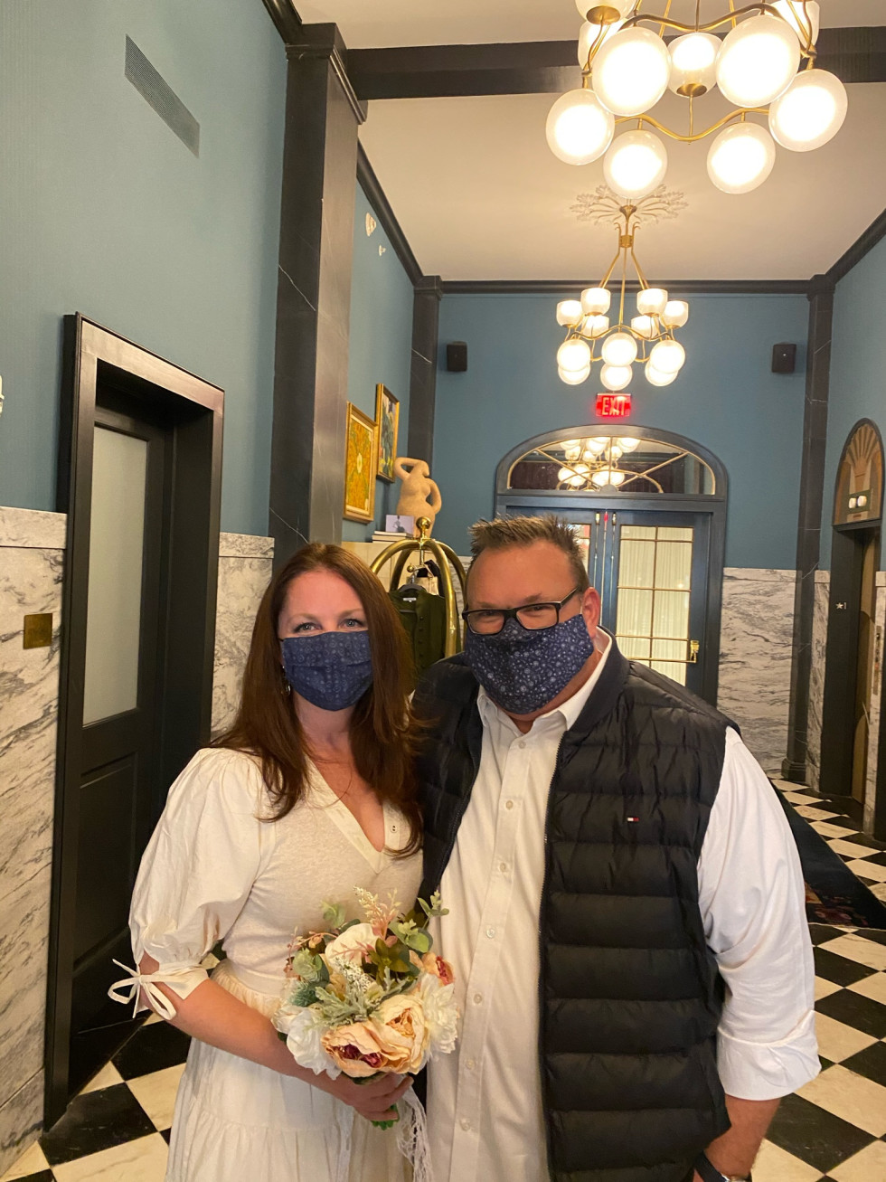 Chris Shepherd Lindsey Brown wedding