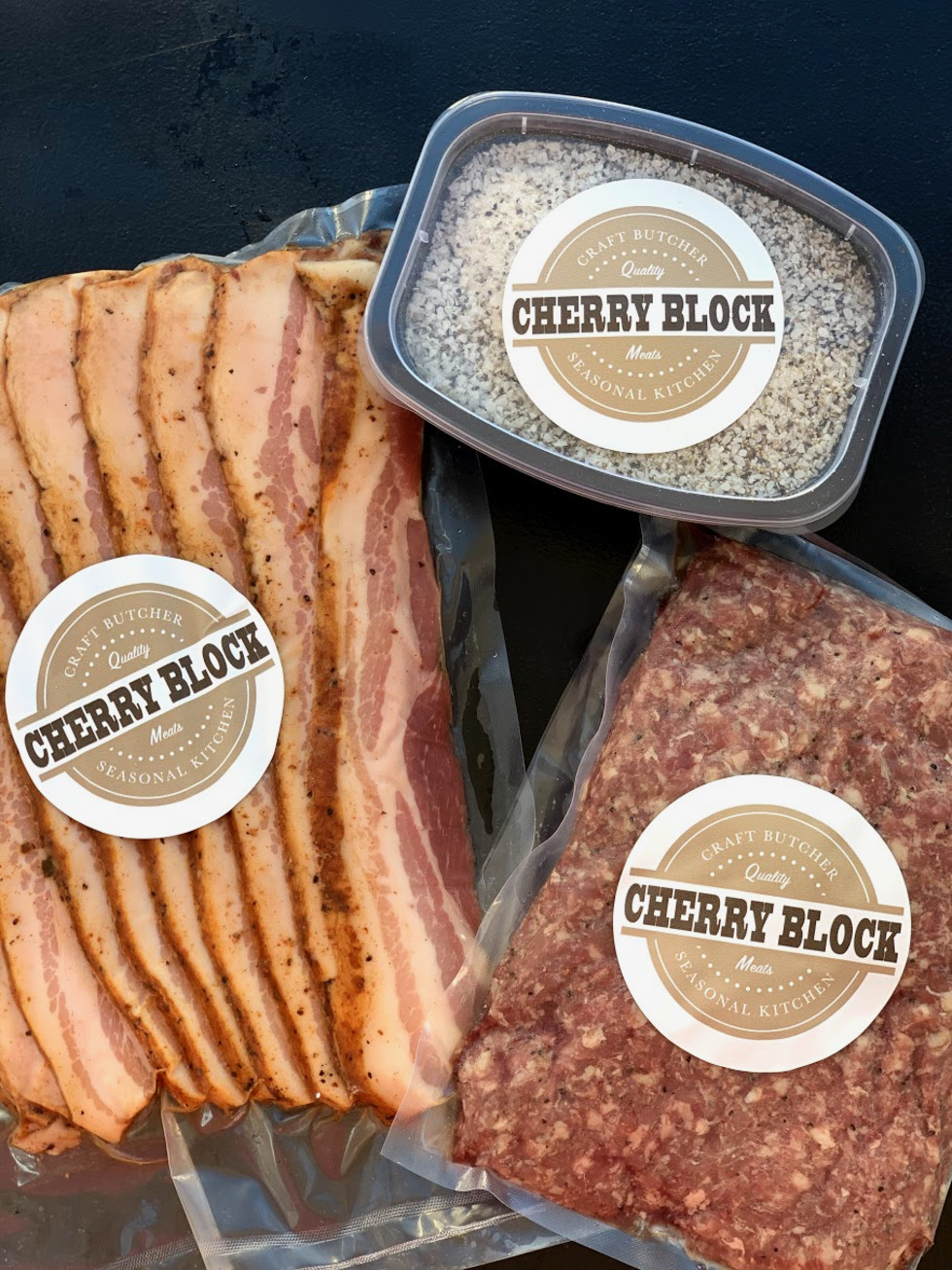 Cherry Block packaged meats