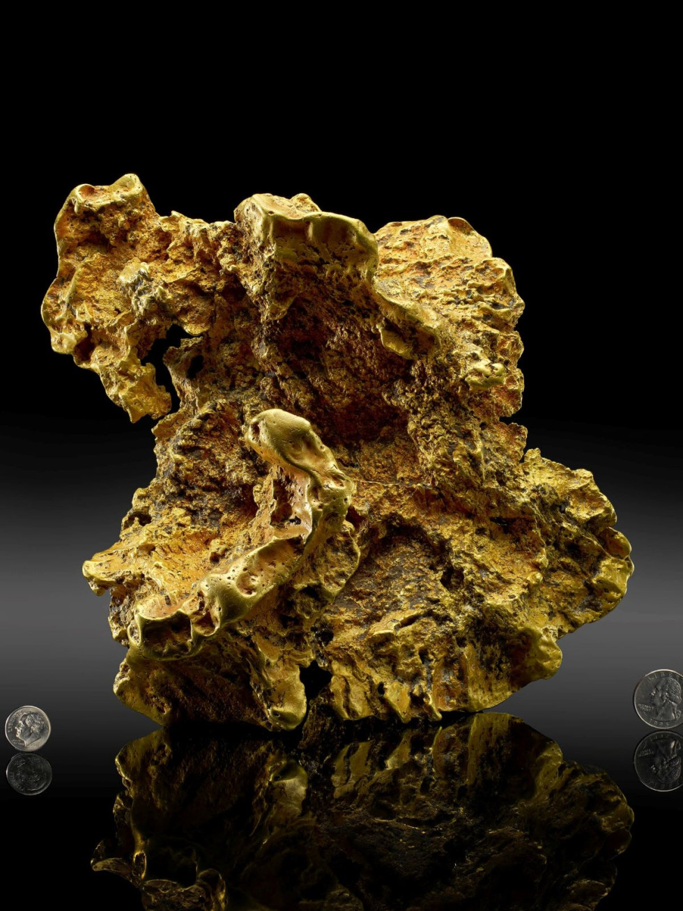 Ausrox Nugget gold, Perot Museum