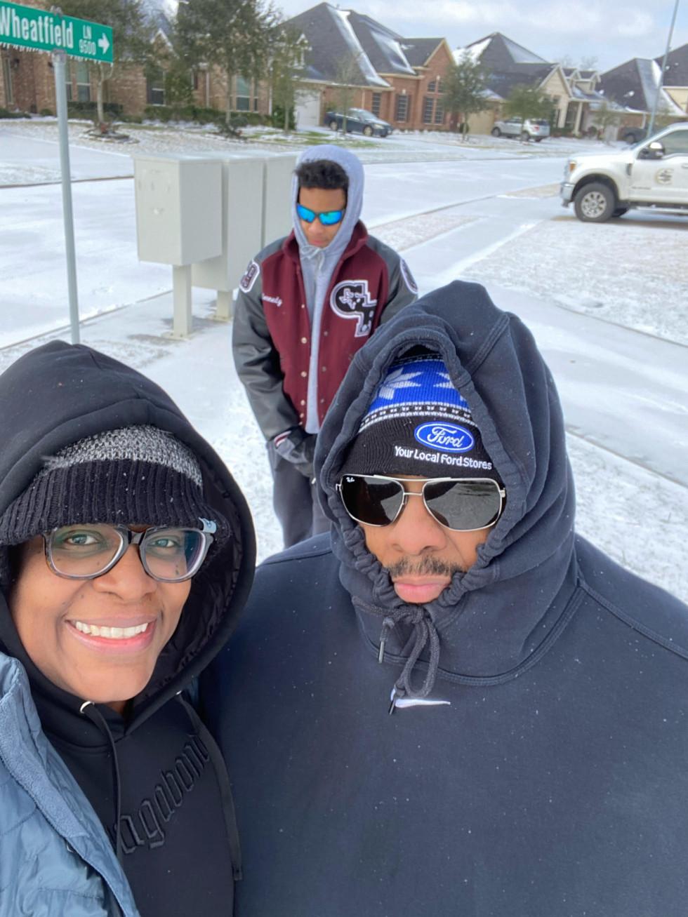 Houston Rosenberg snow