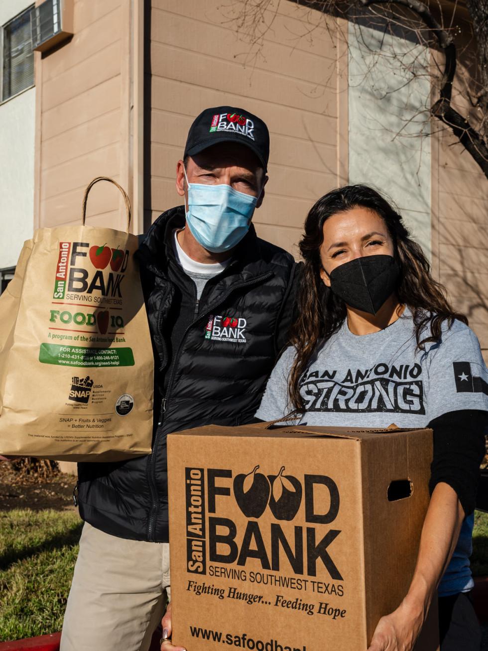 Eva Longoria San Antonio Food Bank