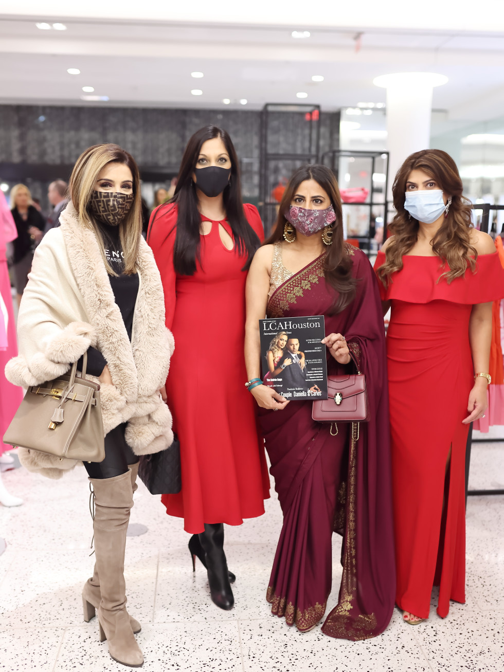 LCA Houston Winter Spring Power Couples 2021 Correa Sneha Merchant, Dr. Sippi Khurana, Ruchi Mukherjee and Namrata Goel