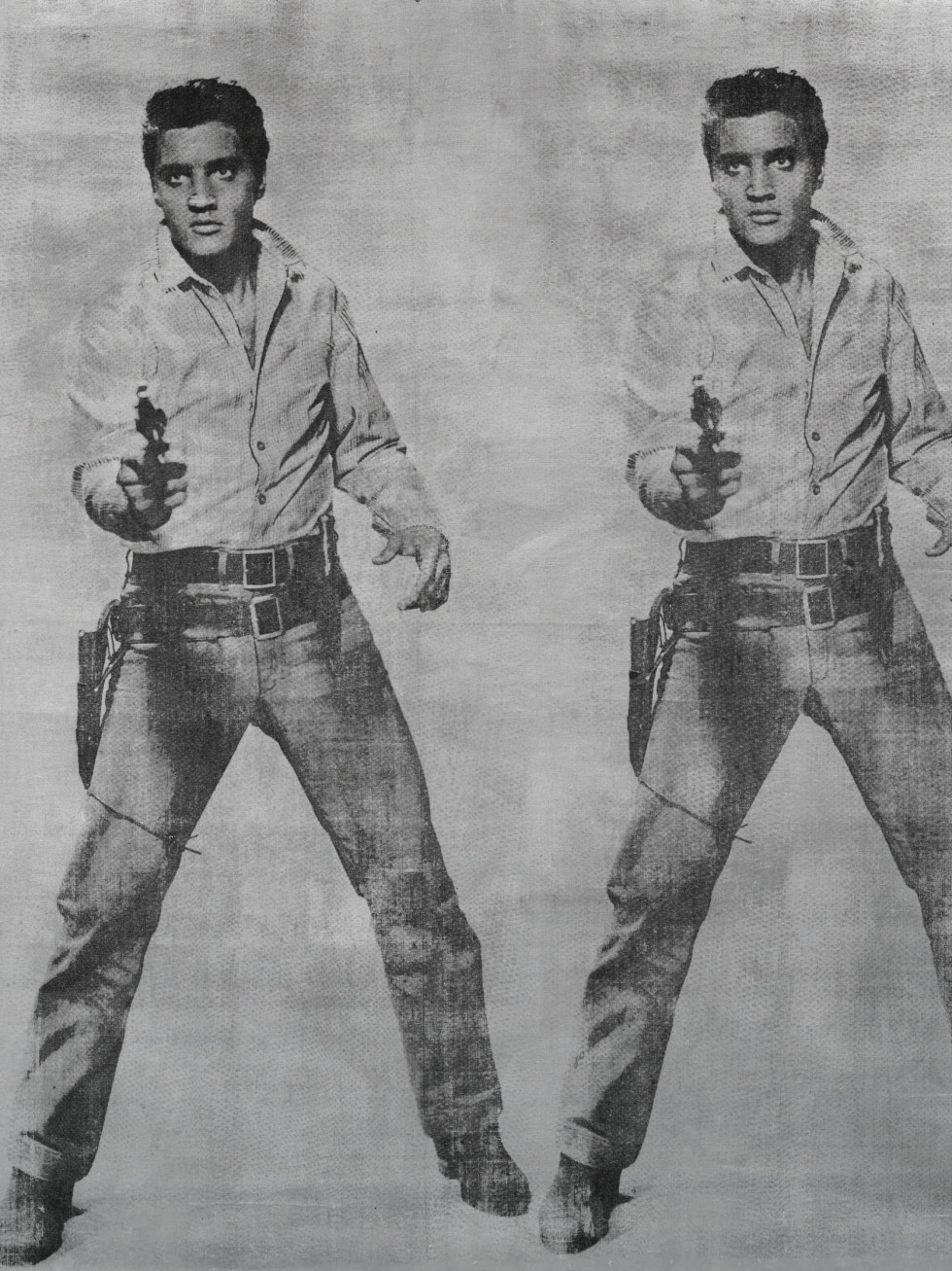 "Andy Warhol, ""Elvis 2 Times,"" Anne Marion"
