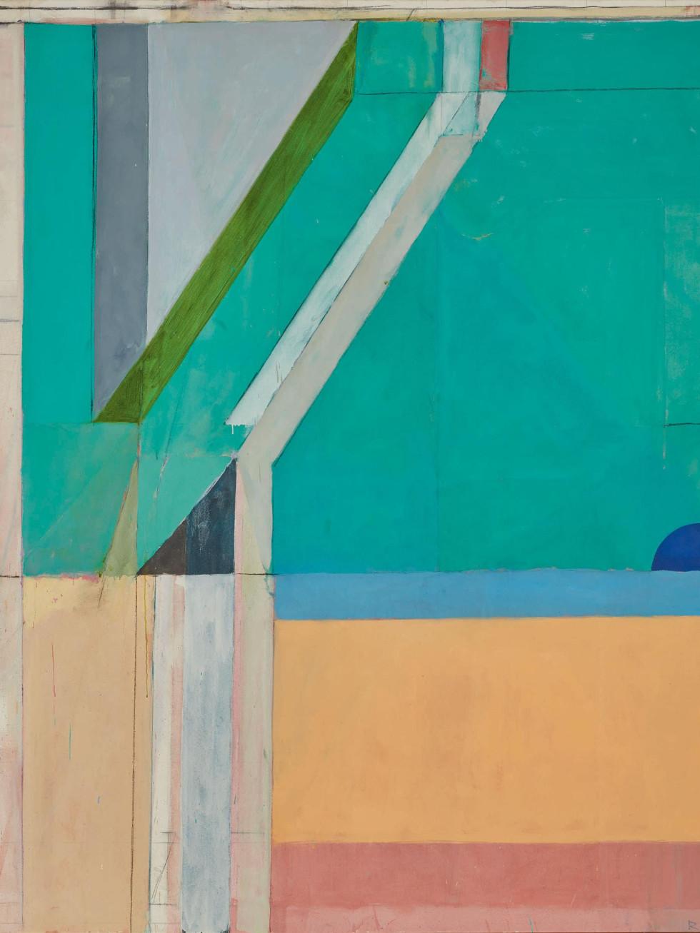 """Richard Diebenkorn, """"Ocean Park No. 40,"""" Anne Marion"""