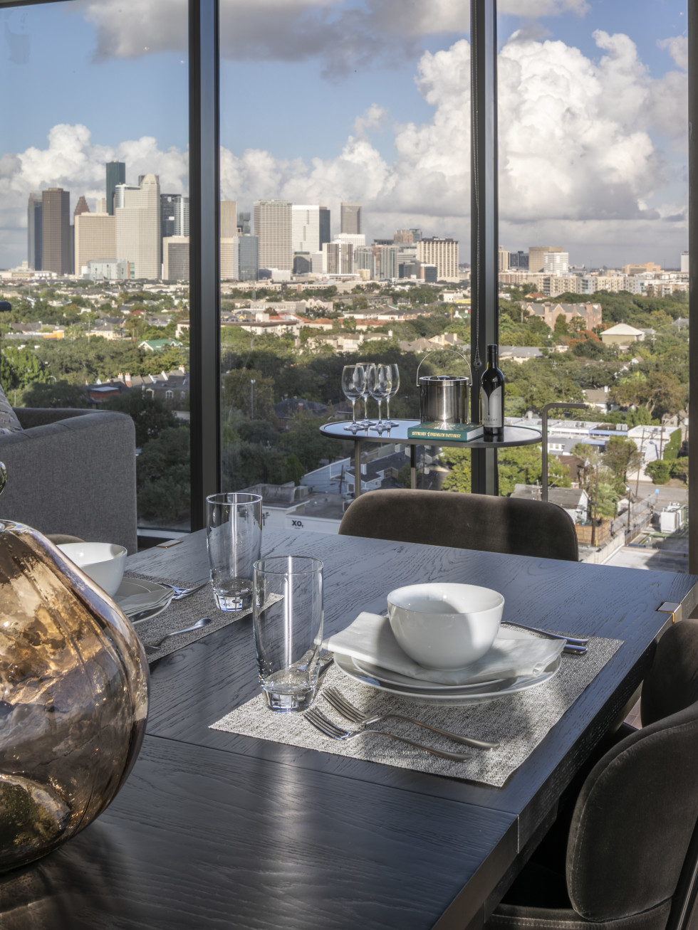 La Colombe d'Or 2021 tower downtown view