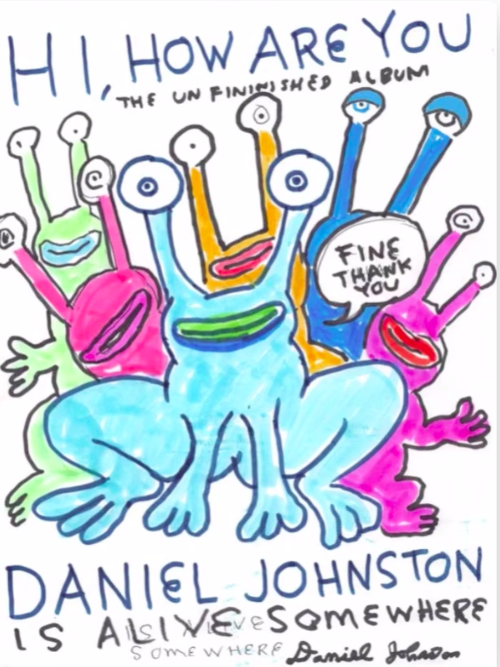 Daniel Johnston art
